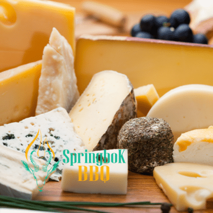 Springbok BBQ Catering Cheese Platter