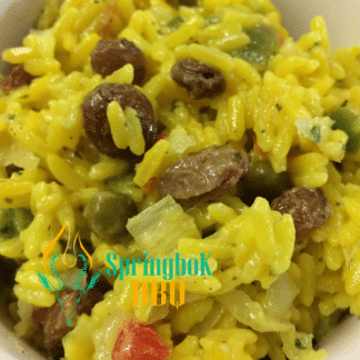 Springbok BBQ Catering Golden Rice Salad