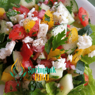 Springbok BBQ Catering Greek Salad