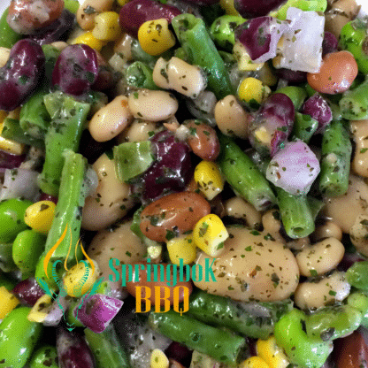 Springbok BBQ Catering Green Bean Salad