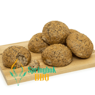 Springbok BBQ Catering Seeded Rolls