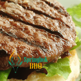 Springbok BBQ Catering Wood-Fired Angus Burgers