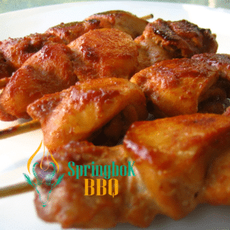 Springbok BBQ Catering Wood-Fired Chicken Skewers