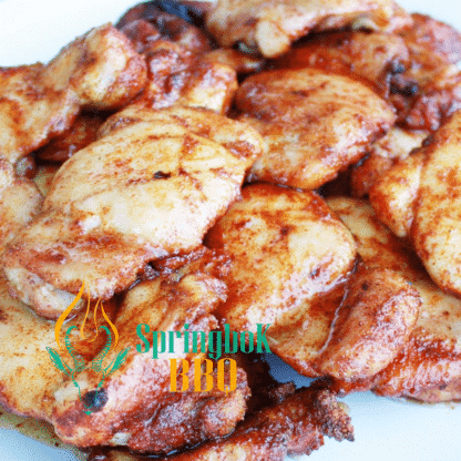 Springbok BBQ Catering Wood-Fired Chicken Thighs