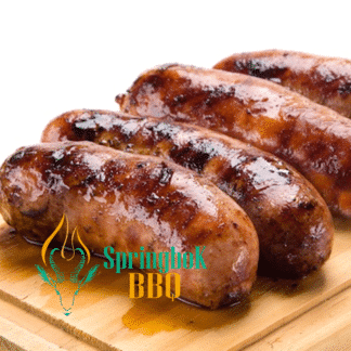 Springbok BBQ Catering Wood-Fired Cumberland Sausages
