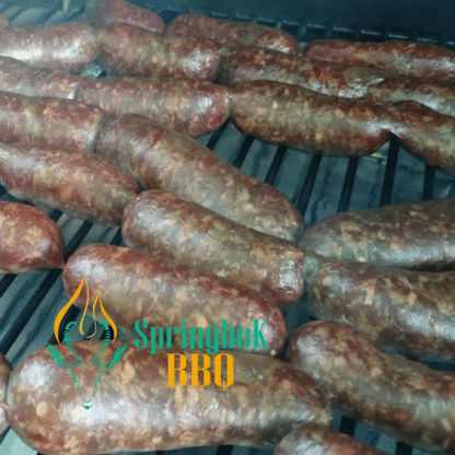 Springbok BBQ Catering Wood-Fired Dinky Farmer Sausages