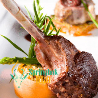 Springbok BBQ Catering Wood-Fired Lamb Chops