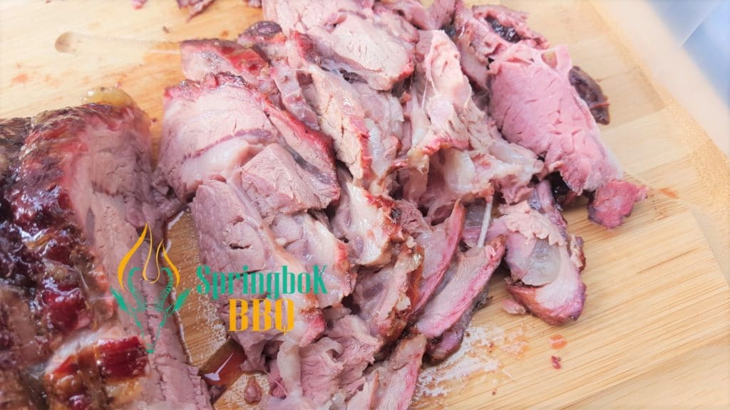 Wood-Fired Ox Roast Rolled Fore Rib Slices