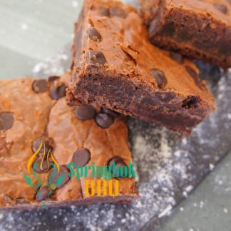 Belgian Chocolate Brownie Tray Bake