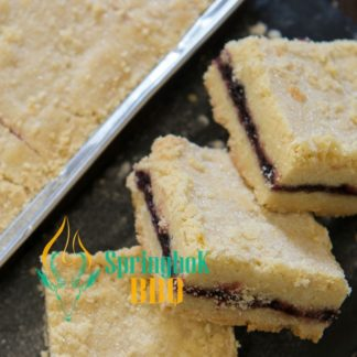 Blackcurrant Shortbread