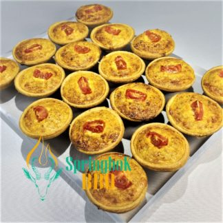 Springbok Buffet Catering Mini Pizza Quiches 3 324x324 - Extras