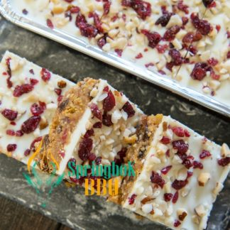 White Honeynut Tiffin Tray Bake
