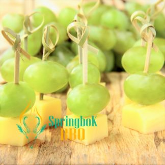 Grape & Manchego Canape Skewers