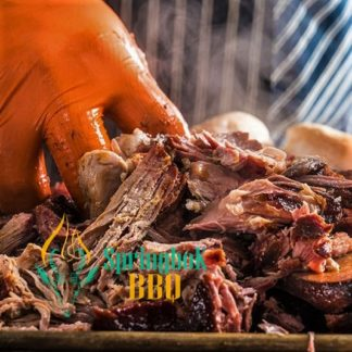 Springbok BBQ Catering Wood-Fired Pulled Pork