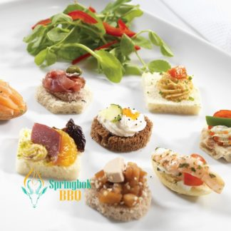 Catering Chicago Canape Selection