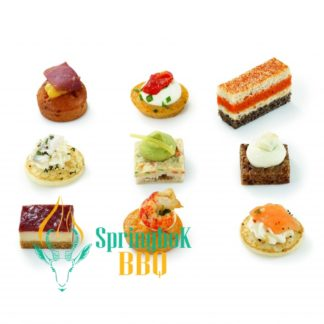 Catering French Canape Selection