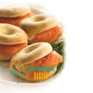 Catering Mini Salmon & Cheese Bagels