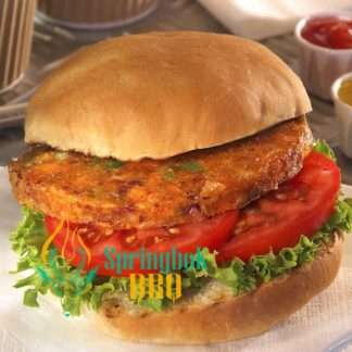 Spicy Bean Burgers (BBQ Catering)