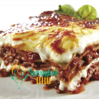 Springbok BBQ Catering Beef Lasagne