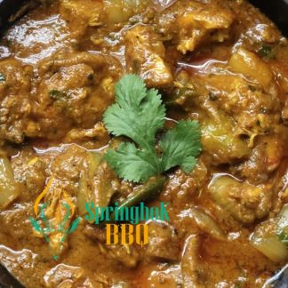 Springbok BBQ Catering Catering Chicken Jalfrezi