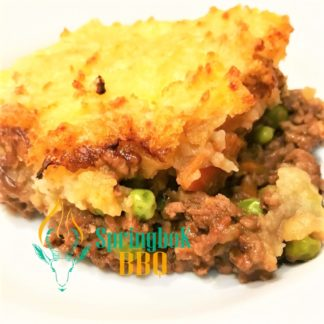 Springbok BBQ Catering Catering Cottage Pie