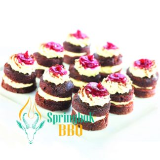 Buffet Catering Black Forest Canapes