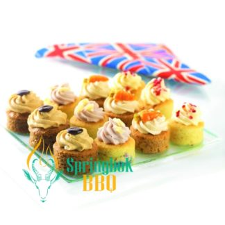 Buffet Catering Luxury Mini Cake Canapes