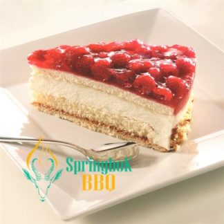Buffet Catering Raspberry Cheesecake