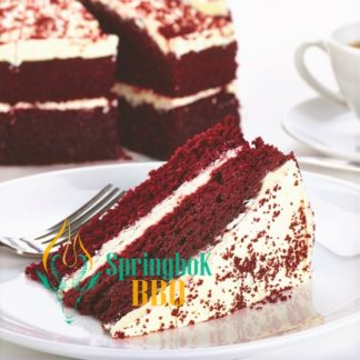 Buffet Catering Red Velvet Cake
