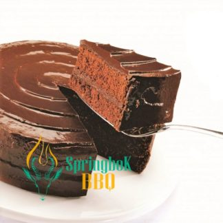 Buffet Catering Chocolate Fudge Gateau