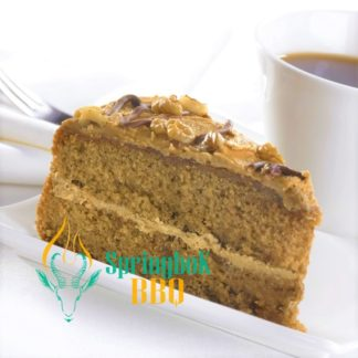 Buffet Catering Coffee & Walnut Cake