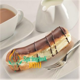 Buffet Catering Dairy Cream Chocolate Eclairs