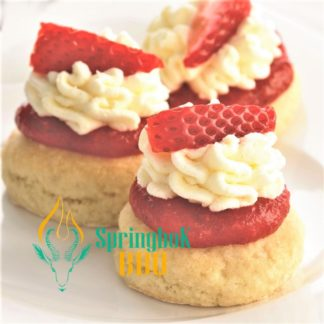 Buffet Catering Strawberry Cream Scones