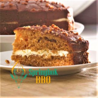 Buffet Catering Toffee Pudding Cake